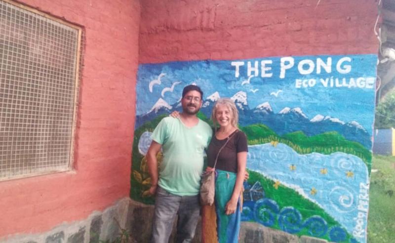 Rocio Perez at our Eco Village